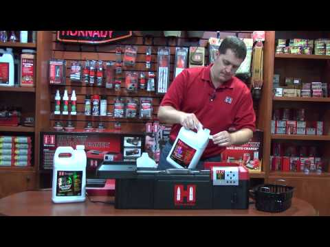 Hornady® Hot Tub™ Sonic Cleaner Demo
