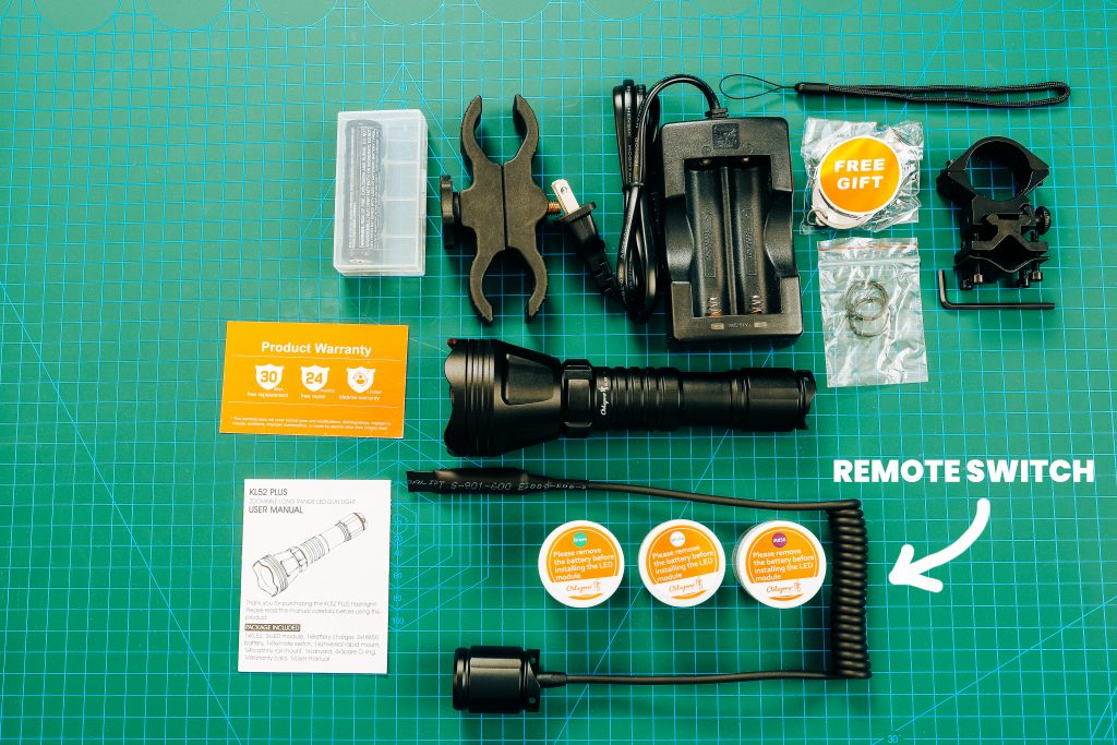 Odepro KL52Plus Zoomable - HANDS ON - Hunting Flashlight Review