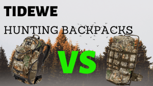 TideWe Hunting Backpack Review and Comparison
